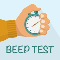 Beep Test: 15m and 20m Bleep Test by Adam Howard