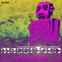 Purple Planet Rock by Maggotron