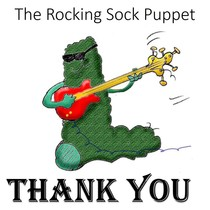 Thank You by The Rocking Sock Puppet