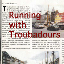 Running with Troubadours by Dennis Selfridge