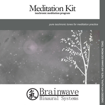 Meditation Kit by Brainwave Binaural Systems