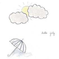 Hello July by Caleb Jude Green