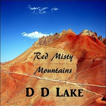 Red Misty Mountains by D D Lake