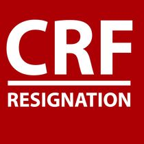 Resignation by CRF