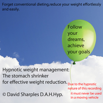 Hypnotic Stomach Shrinker for Weightloss by David Sharples D.A.H.Hyp