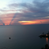 Pattaya Sunset by Alexander Mallat
