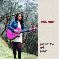 Girl With The Red Guitar by Emily Rottler