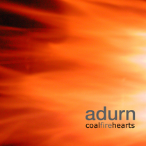 Coal Fire Hearts by Adurn