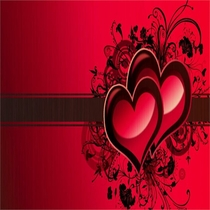 Red Hearts by Dj Comiman