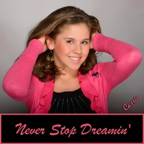 Never Stop Dreamin' (feat. Evangelos) by Cassie Pinataro