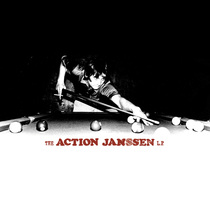 The Action Janssen - LP by The It Men, The Hot Rails and The Vista Cruisers