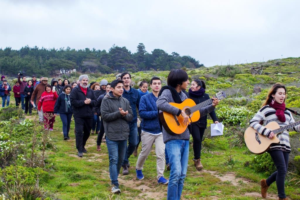 """Caminata """"Historia de Tierra de Fe"""""""
