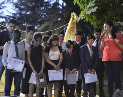 Graduación del Ministerio de laEscuela Bíblica de niños