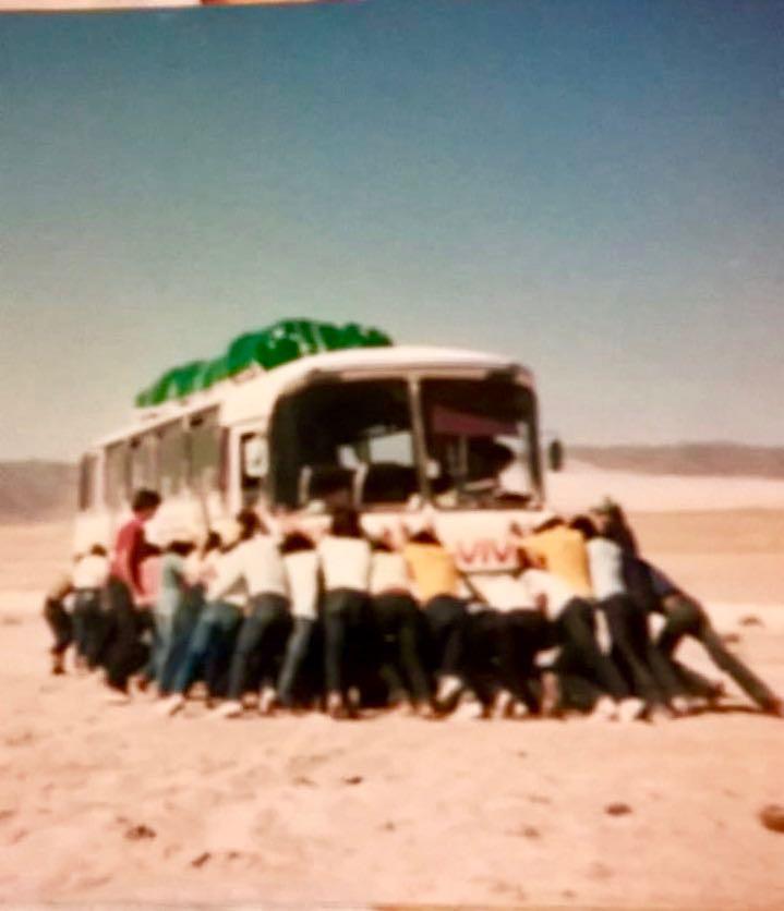 Recuerdo de Viaje misionero al norte de Chile en 1981