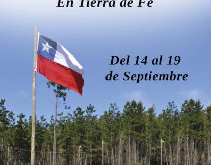 Retiro Fiestas Patrias en Tierra de Fe