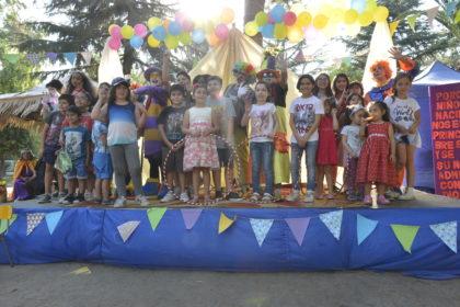 Niños de nuestra comunidad celebran la fiesta de navidad 2018