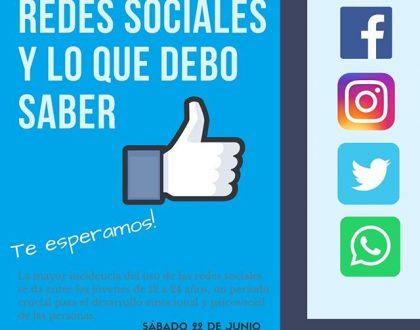 Charla sobre Redes Sociales a jóvenes