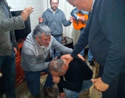 Sociedad de Varones visita a Hno. Jorge