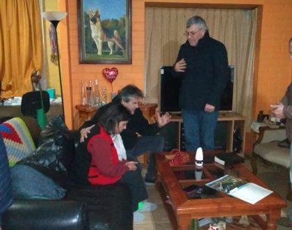 Sociedad de Varones visita a Hna. Luz Soto