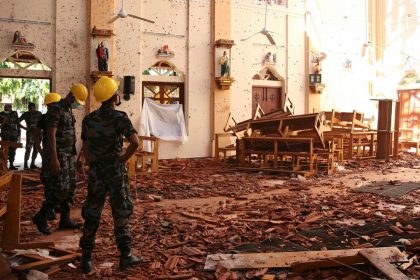 Matanza de cristianos y de extranjeros en Sri Lanka
