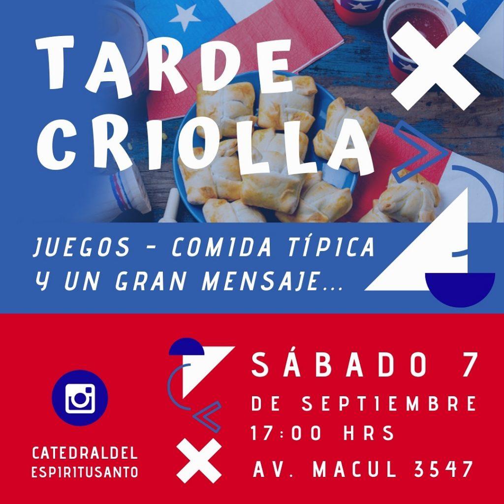 Tarde Criolla - 7 Sep 2019