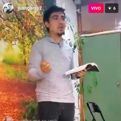 Iglesia Hogar de Macul se reúne y transmite por Instagram
