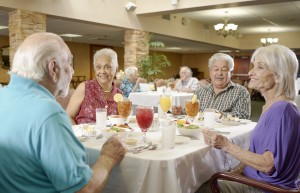 St. Joseph Assisted Living Facility Dining Room