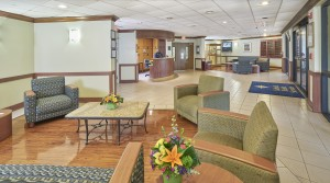 St. John's Nursing & Rehab Center Interior Lobby Catholic Health Services