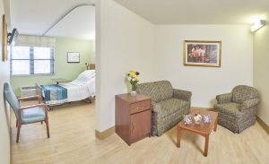 St. John's Nursing & Rehab Center Private Room | Catholic Health Services