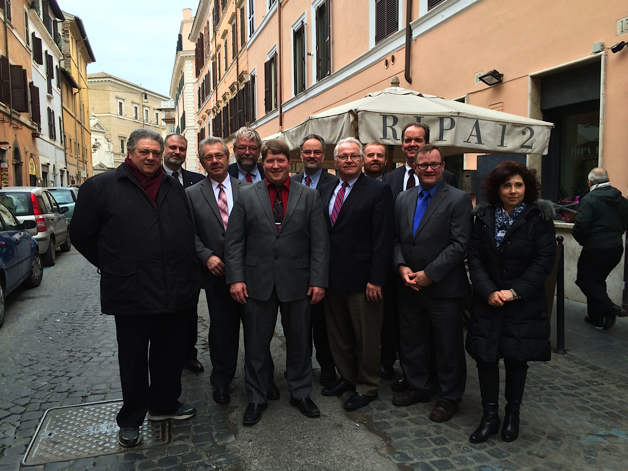 FUE, ICRA, CRL in Rome