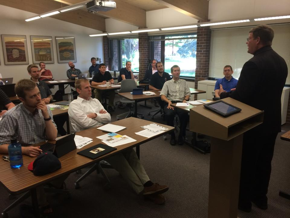 Fr. Gregory Mastey shares the joys and challenges of rural ministry with seminarians.