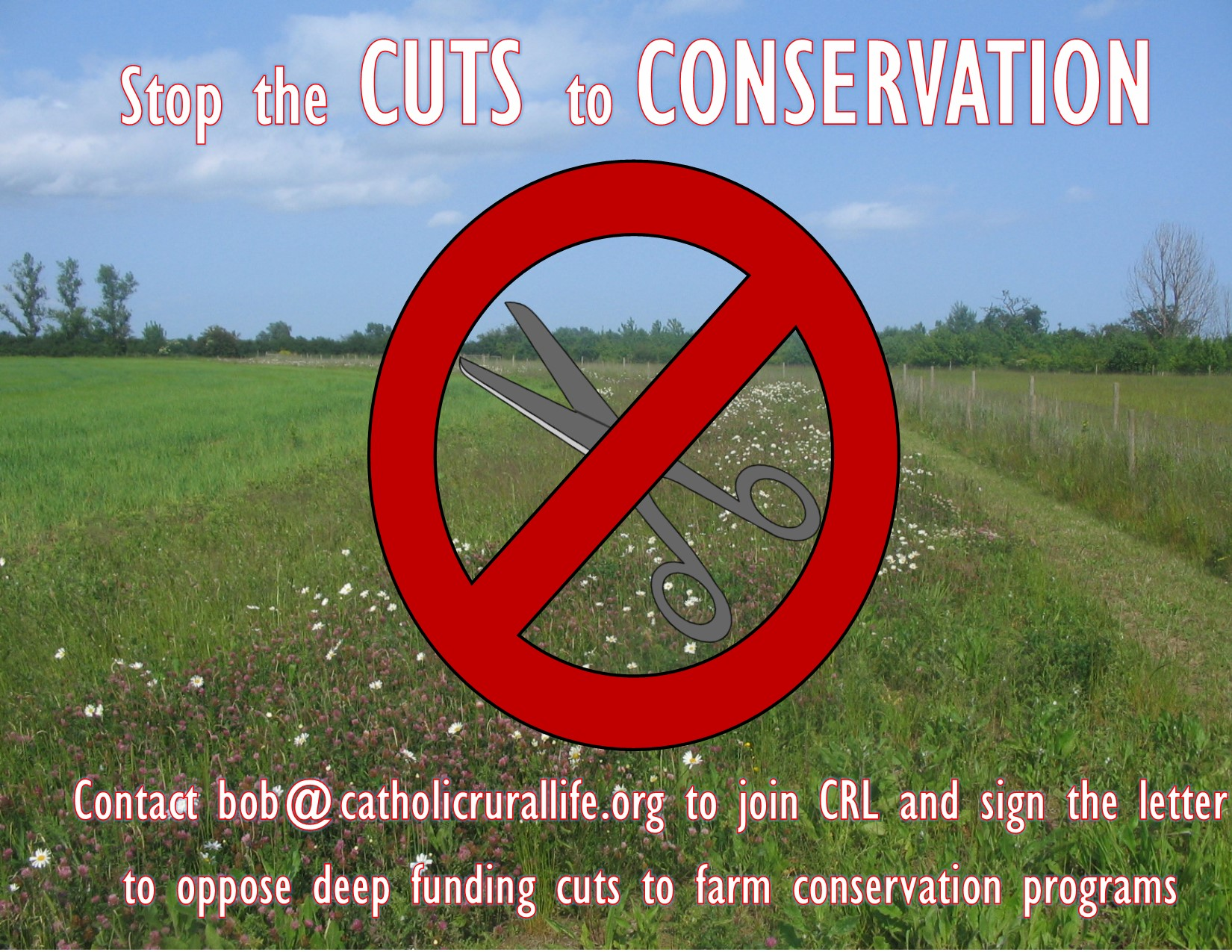 Stop Cuts to Conservation