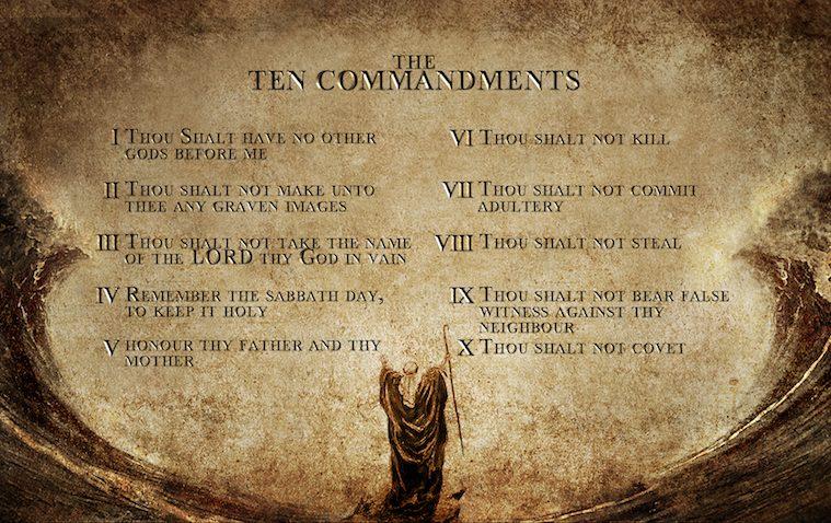 the ten commandments essay