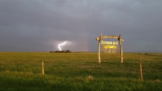 Sar sign lightning