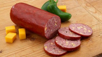 Jalapeno cheese sausage