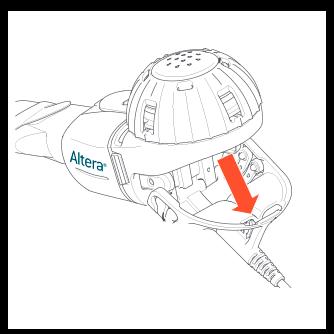 Disassembling Altera Nebulizer Handset figure 1