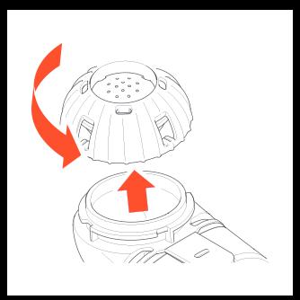 Disassembling Altera Nebulizer Handset figure 2