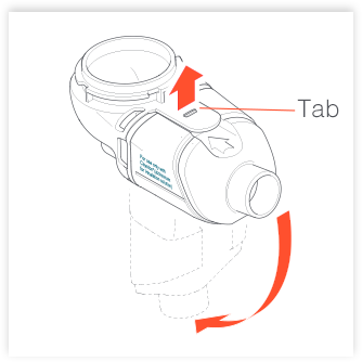 Disassembling Altera Nebulizer Handset figure 4