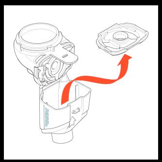 Disassembling Altera Nebulizer Handset figure 5