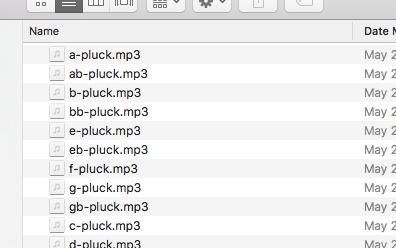 mp3 files