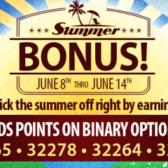 SUMMER BONUS OFFER! Earn 2X Rewards Points!