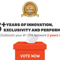 Vote Clickbooth Your #1 CPA Network!