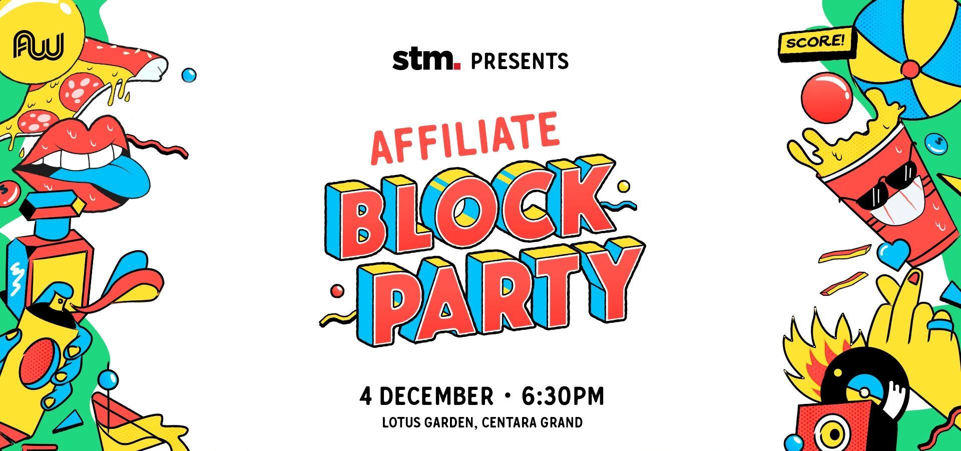 Affiliate Block Party- Dec 4