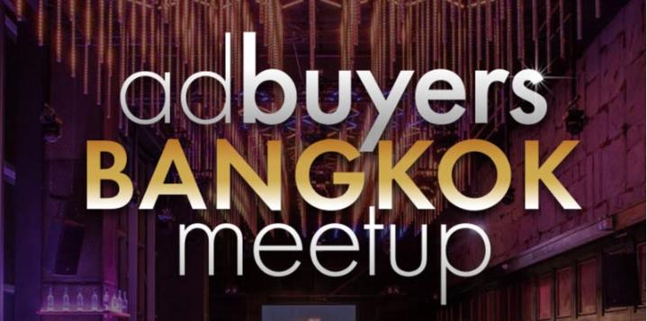 AD Buyers Bangkok Happy Hour- Dec 5
