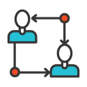 Team Work Icon 125px by 125px