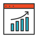 Traffic Growth Icon 125px by 125px