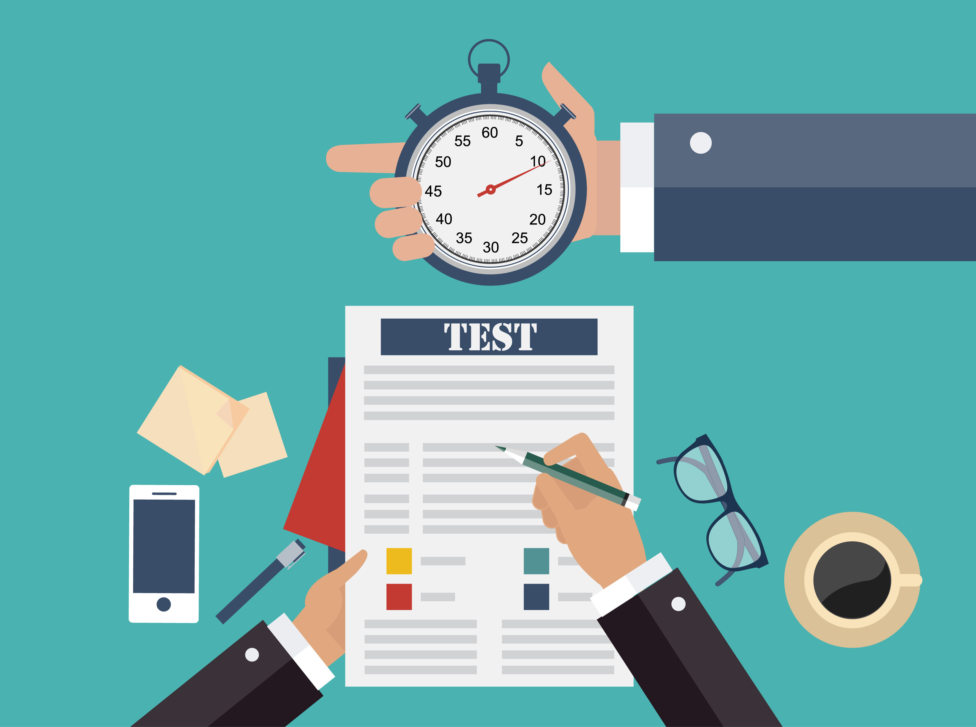 How to succeed at management interview tests