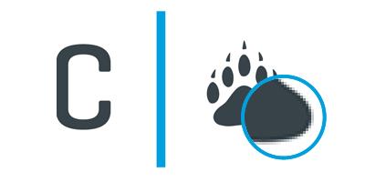 Raster C-Paw logo