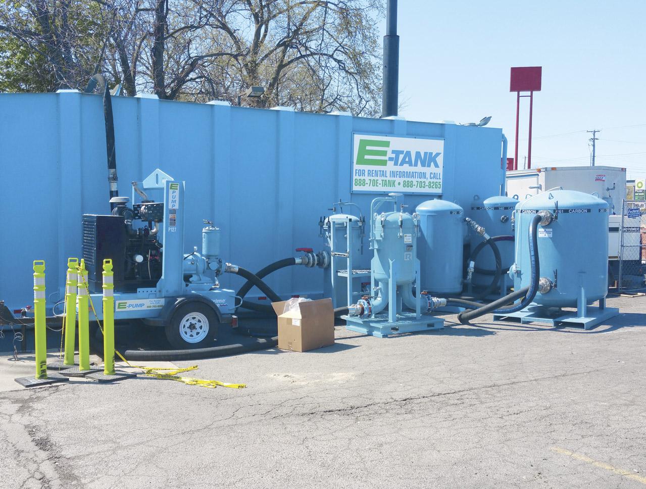 Gas Station Replaces Underground Storage Tanks | E-Tank