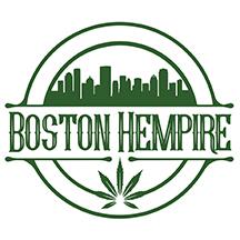 Logo for CBD store: Boston Hempire